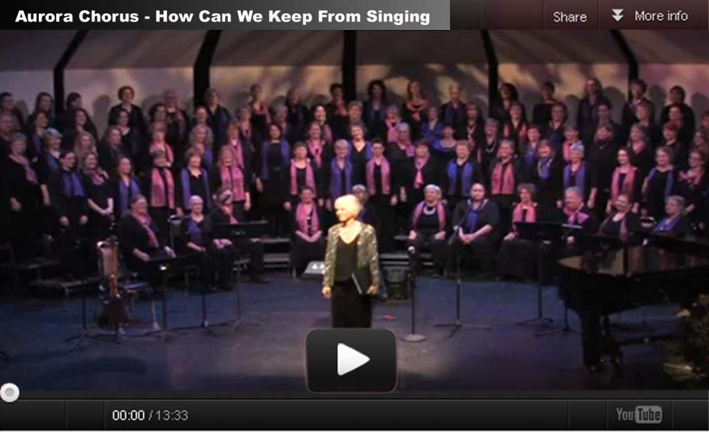 Aurora Chorus' 20th birthday video